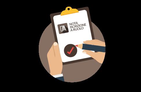 iContenzioso Pro - nota iscrizione a ruolo automatica