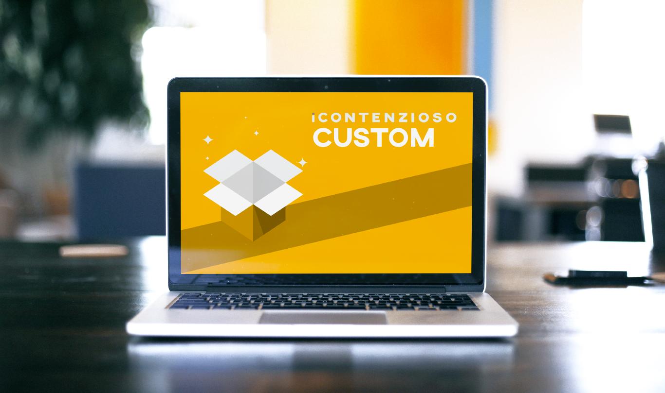 iContenzioso versione Custom