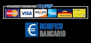 iContenzioso - Paypal carte e bonifico