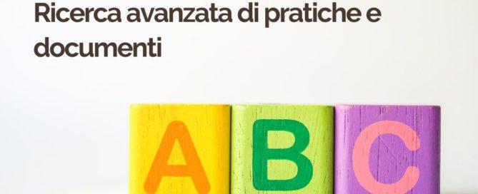 ABC 5 Ricerca avanzata di pratiche e documenti | iContenzioso