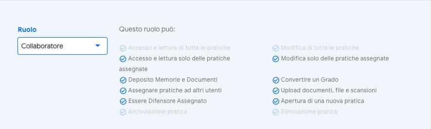 utente Collaboratore | iContenzioso
